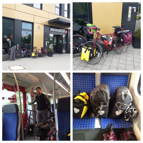 Loaded & leaving Frankfurt