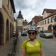Small French villages in Alsace