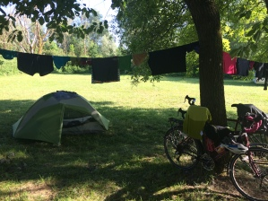 Camp in Oselle, France