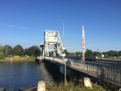 We arrived in Normandy. Pegasus Bridge.