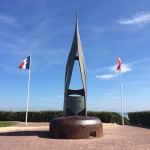 D-Day Memorials line the Normandy Beaches