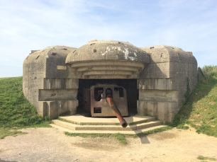 The guns of Longes sur Mer
