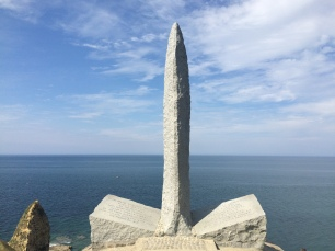 Point du Hoc, Ranger Memorial.