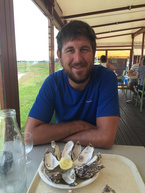 Oysters in our bellies