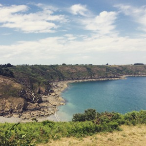 Coastal beaches in Bretagne
