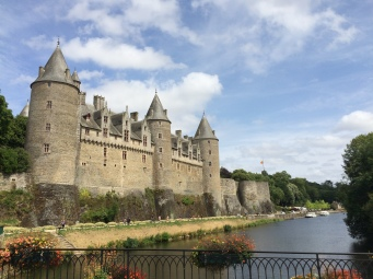 The village of Josselin