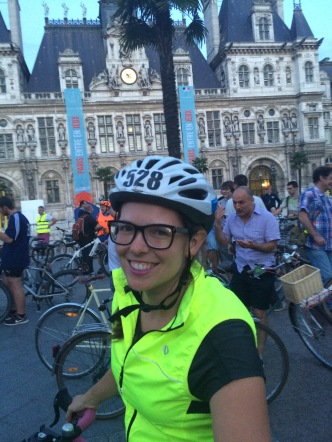 Our Friday night ride with Paris Rando Velo Club