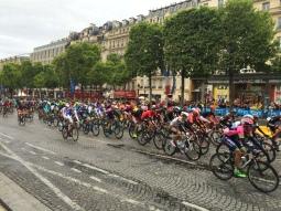 The grande finale of the Tour de France