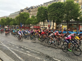 The grande finale of the Tour de France