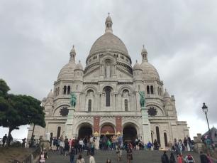 Basilica Sacre-Coeur, Montmarte, Paris