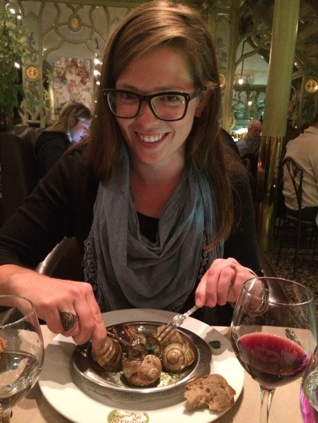 Escargot! French culinary adventures