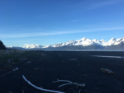 Looking back toward Seward