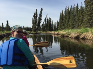 Paddling Moose River