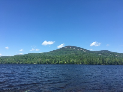 Blue Mountain from Lake Durant