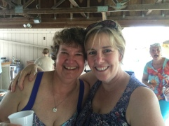 My beautiful Mom & Liz, step-mom