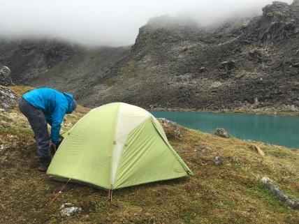 Camp @ Upper Reed Lake