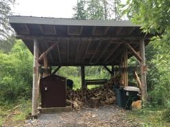 Fully stocked wood & kindling