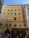 Mozart's childhood residence