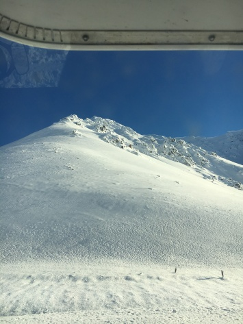 Avalanche terrain - just keep driving!