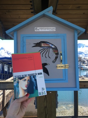 Nabbing good reads at the Little Free Library