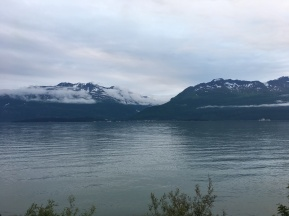Across Valdez Arm, looking at the town proper