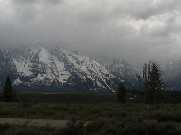 Grand Teton from the road