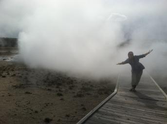Steamy!